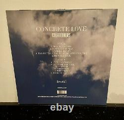 Courteeners Concrete Love White Vinyl LP With Signed Photo