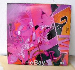 Current 93/ Nurse With Wound Bright Yellow Moon Vinyl 2LP Dual Signed RARE OOP