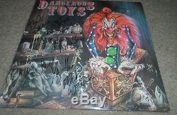 DANGEROUS TOYS signed autographed album vinyl by entire band