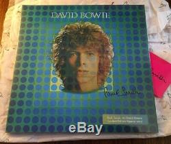 DAVID BOWIE PAUL SMITH SPACE 12 Space Oddity Vinyl Record Signed By Paul Smith