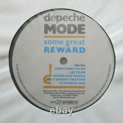 DEPECHE MODE Some Great Reward UK vinyl LP Mute Records 1984 Fully Signed