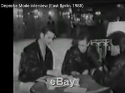 DEPECHE MODE signed signierte Vinyl LP Ost Berlin 7.3.1988 DDR Fernsehen Singles
