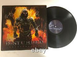 DISTURBED BAND AUTOGRAPHED SIGNED INDESTRUCTIBLE VINYL LP ALBUM JSA COA ii10754