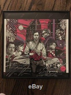 DRIVE Mondo Vinyl LP Record TYLER STOUT Rare Signed Refn Martinez Gosling Kurtz