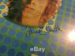 David Bowie Paul Smith Space Vinyl Signed