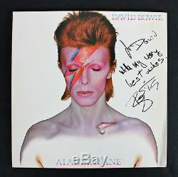David Bowie With My Very Best Wishes Signed Album Cover With Vinyl BAS #A09505