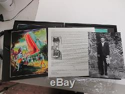 David Tibet SIGNED- Current 93 RED VINYL Limited Perdition 8-LP+7 Set VOD 74/75