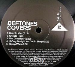 Deftones COVERS, Autographed Vinyl LP, Reprise (2011) Never Played