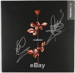 Depeche Mode Signed Autograph Violator Record Album Beckett COA Vinyl