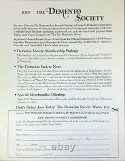 Dr. Demento Greatest Novelty Records Of All Time 6X Vinyl Ltd. Ed. #563
