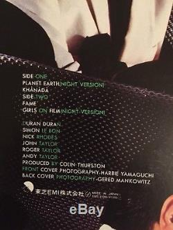 Duran Duran Nite Romantics Japanese 12 vinyl Signed+ Mystery Gift
