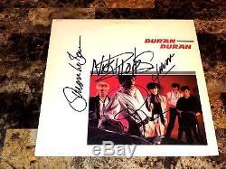 Duran Duran Rare Signed Debut Vinyl LP Simon Le Bon John Taylor Nick Rhodes 1981
