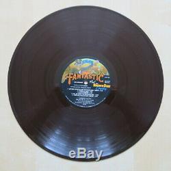 ELTON JOHN Captain Fantastic USA brown vinyl gatefold LP with letter Signed
