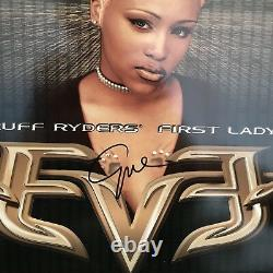 EVE autographed 2-Record LP Ruff Ryders First Lady 1999 DMX US Promo VINYL MINT