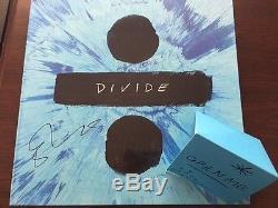 Ed Sheeran Divide Deluxe Vinyl Boxset Signed Autographed UO Rewards