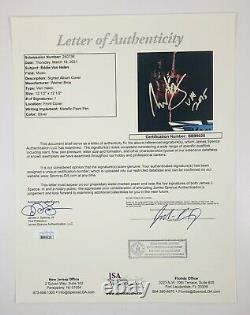 Eddie Van Halen Signed Autographed Van Halen Debut Vinyl Album JSA