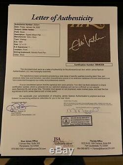 Eddie Vedder Pearl Jam JSA Signed Autograph Album Vinyl Vitalogy Album Flat