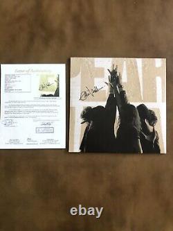 Eddie Vedder Signed Autographed Vinyl Album Pearl Jam WithJSA FULL LETTER 10 RARE