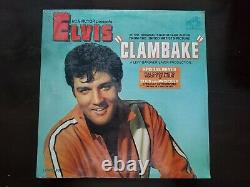 Elvis Presley Clambake UNOPENED! WITH AUTOGRAPHED PHOTO! RCA Victor LPM-3893