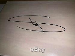 Eminem Kamikaze Night Combat Vinyl Glow Autographed