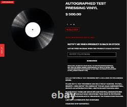 Eminem Music To Be Murdered By Auto Signed Record Vinyl Test Pressing In Hand