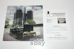 Eminem Signed'recovery' Vinyl Record Lp Beckett Coa Slim Shady 8 Mile MM Lp Bas