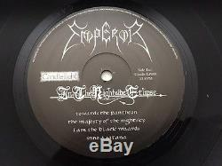 Emperor In the Nightside Eclipse Vinyl LP Signed Candlelight EX/EX Black Metal