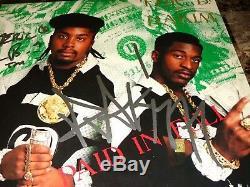 Eric B. & Rakim Signed Autographed Paid In Full Vinyl LP Record Rap Hip Hop COA