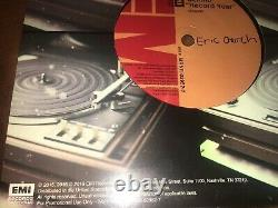 Eric Church Record Year Autographed Promotional 45 Vinyl! Extremely RARE