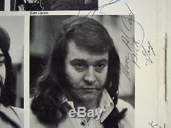 Euclid Heavy Equipment Rare Vintage Vinyl LP Amsterdam AMS12005 Signed Autograph