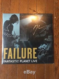 Failure Fantastic Planet Live 2xLP. Signed, sealed colored vinyl