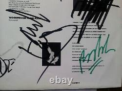 Faith No More The Real Thing A1/B1 FULLY SIGNED EX Vinyl Record Album 828154