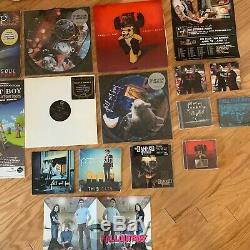 Fall Out Boy Folie A Deux LP + 23 autographed and collector rarities