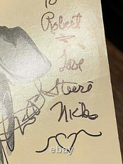 Fleetwood Mac Band Signed Rumors Vinyl Album Rock And Roll Stevie Nicks +3 Bas