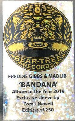 Freddie Gibbs & Madlib Bandana LP Alternative Artwork Signed /250 Numbered Vinyl