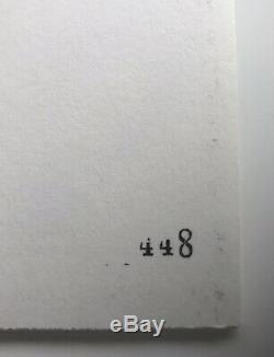 Frightened Rabbit 4 X 7 Vinyl Box Set # 448 / 500 Scott Hutchinson signed Art