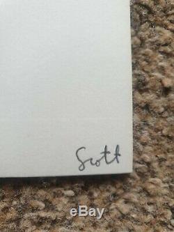 Frightened Rabbit 7 Vinyl Singles Box Twilight Sad National Signed By Scott