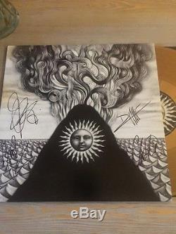 GOJIRA Magma LP GOLD VINYL Signed Collectible mastodon lamb of god Metallica