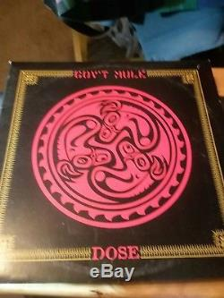 GOV'T MULE Dose Very Rare 2LP Red Vinyl 1st press SIGNED by band #ed of 500