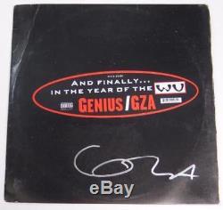 GZA Genius WU TANG CLAN Signed Autograph Liquid Swords Album Vinyl Record LP