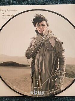 Gary Numan Savage Double Picture Disc, Signed On Vinyl, Inc Signed Art Card