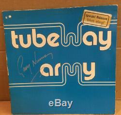 Gary Numan Tubeway Army LP Special Release Blue Vinyl Signed