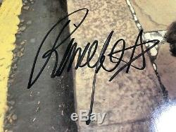 George Harrison & Ringo Starr- Autographed Hand Signed' Somewhere' VINYL LP