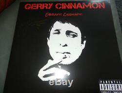 Gerry Cinnamon SIGNED Erratic Cinematic vinyl LP 1st pressing. LTD ED- NEW