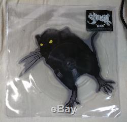 Ghost Rats VIP tour Vinyl 7 record ticket lanyard SIGNED Cardinal Copia PAPA BC