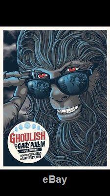 Ghoulish Gary Pullin Signed hardcover book, Ltd Goblin- Suspiria 12 Vinyl /200