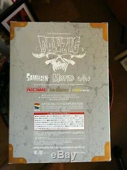 Glenn Danzig Misfits signed soft vinyl doll Samhain version eviliv9 Medicom