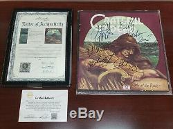 Grateful Dead Band Autographed Wake of The Flood LP Vinyl With COA