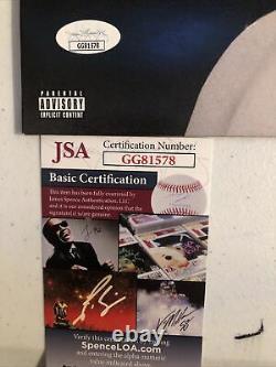 Gunna Signed Autograph Drip Harder Vinyl Album Record Jsa Coa Rap LIL Baby