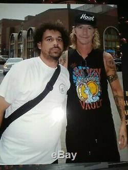 Guns N Roses Signed Slash Duff Adler Appetite For Destruction Album Record Vinyl